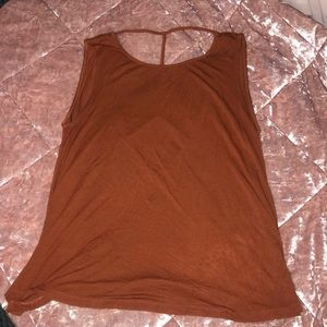 Forever 21 Open Back Tank Top